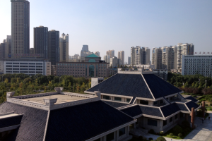 View from Wuhan Provinical Museum