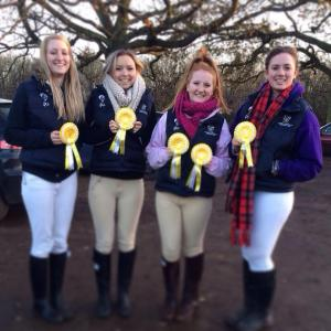 Our second competition at Kent, 3rd as a team and 3rd individually for me!