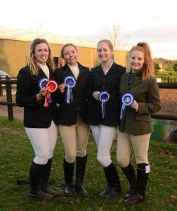Our first competition at home on November 5th where we came 2nd and Izziey came 1st individually