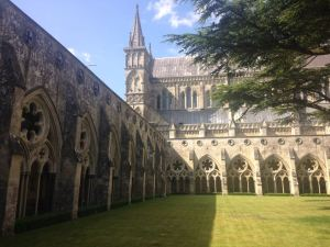 Salisbury Cathedral - Feels like you're walking through Hogwarts!