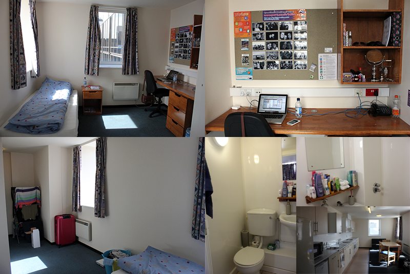 portsmouth uni coursework room